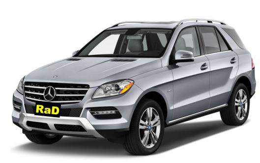 Mercedes Luxury ML SUV