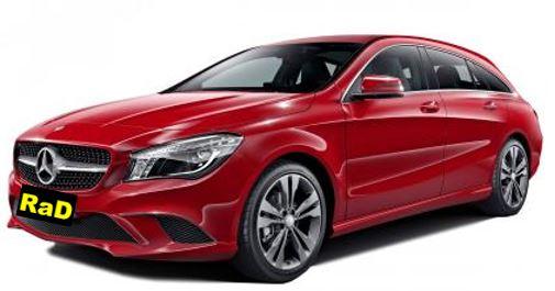Mercedes Luxury CLA200 Wagon