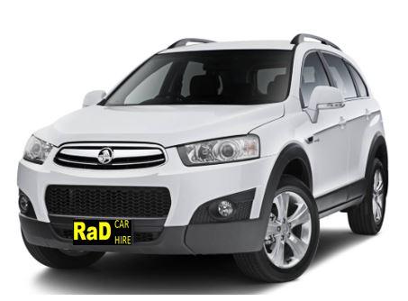 Full Size SUV - Automatic 5 Door 7 Seat Holden Captiva or Similar