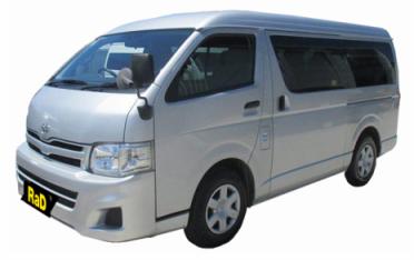 Class 6 - Mini Bus 10 Seater Toyota Hiace