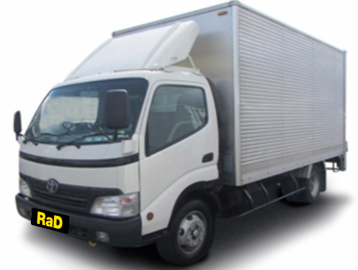 Removal Truck 16 Cubic Metres